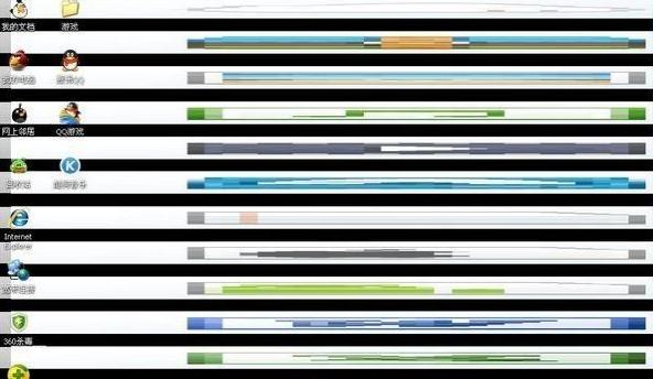 屏幕出现条纹,教您怎么解决电脑屏幕出现条纹