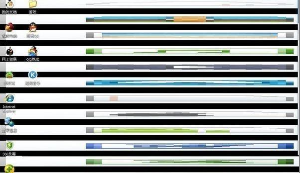 电脑屏幕出现条纹,教您电脑屏幕出现条纹怎么办